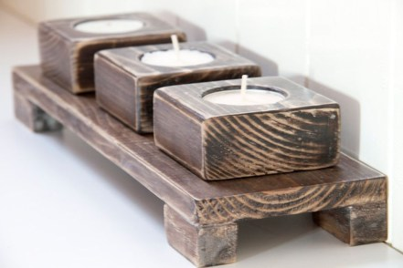 Creative DIY Christmas Candle Holders Ideas To Makes Your Room More Cheerful 65