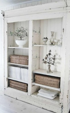 Creative DIY Shabby Chic Decoration Ideas For Your Living Room 06