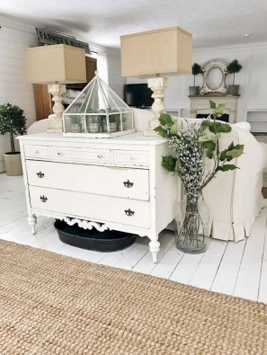 Creative DIY Shabby Chic Decoration Ideas For Your Living Room 08