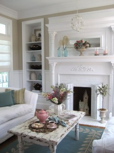Creative DIY Shabby Chic Decoration Ideas For Your Living Room 10