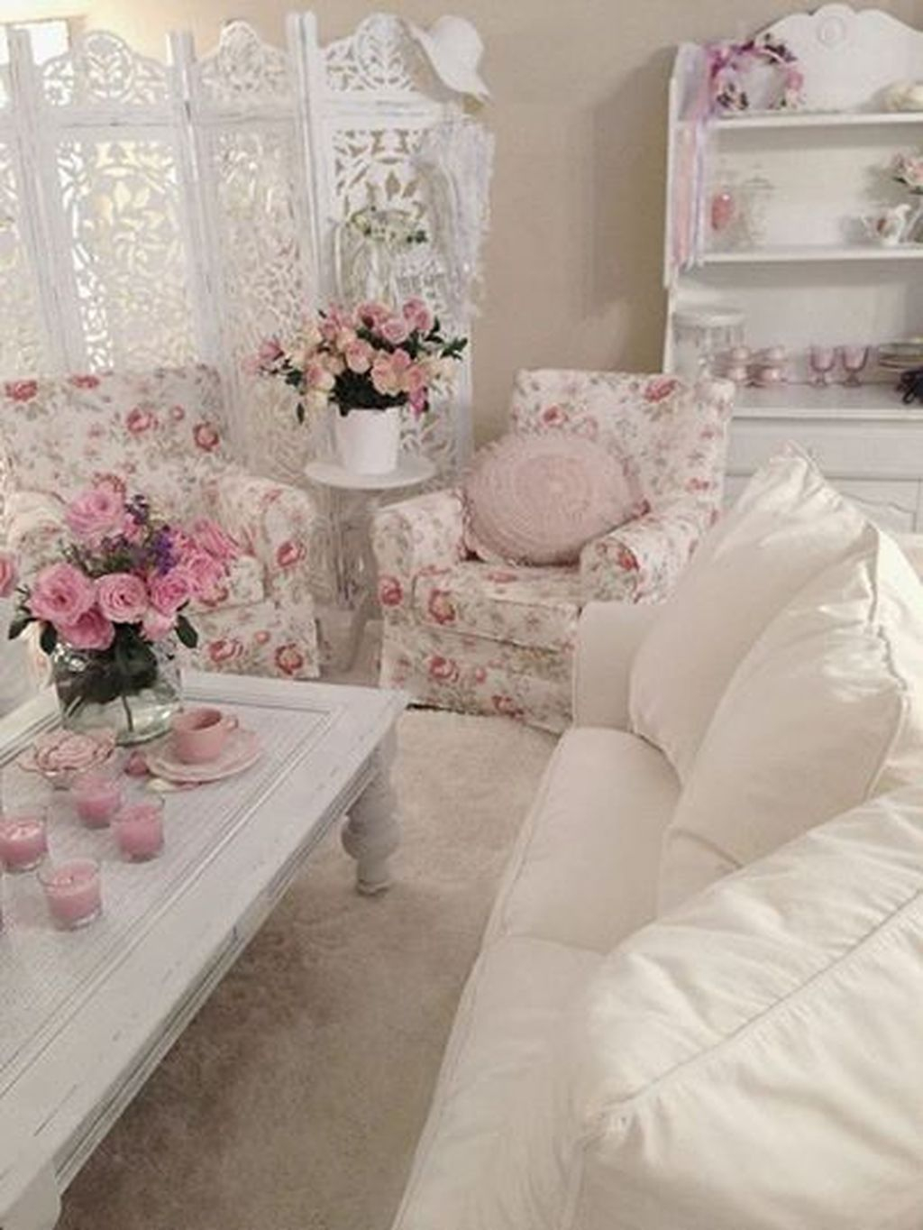 Creative DIY Shabby Chic Decoration Ideas For Your Living Room 12