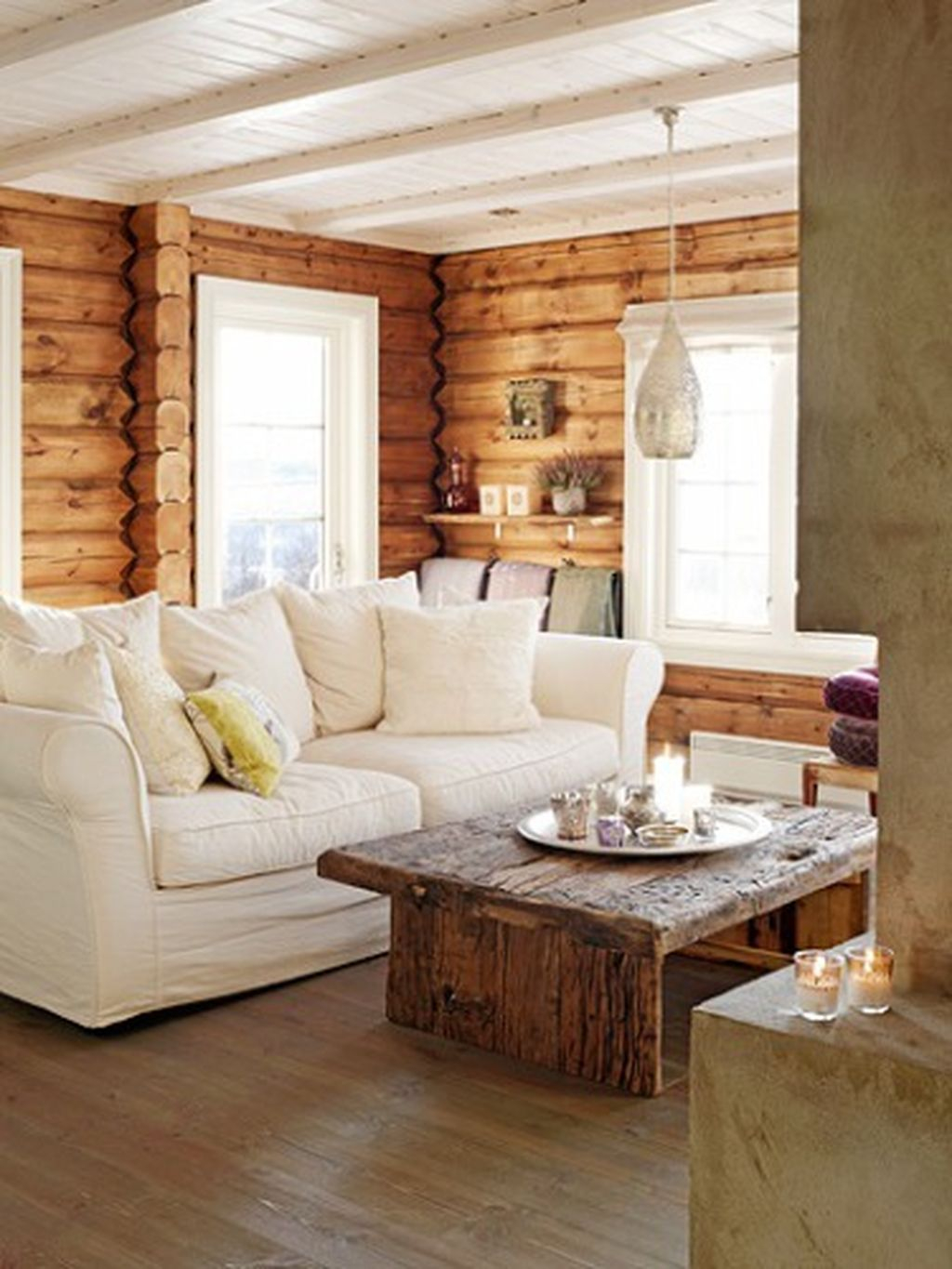 Creative DIY Shabby Chic Decoration Ideas For Your Living Room 69