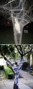 Creepy But Creative DIY Halloween Outdoor Decoration Ideas 22