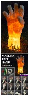 Creepy But Creative DIY Halloween Outdoor Decoration Ideas 44