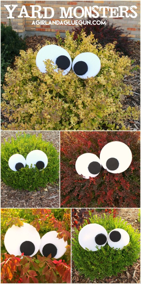 Creepy But Creative DIY Halloween Outdoor Decoration Ideas 49