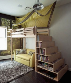 Cute Boys Bedroom Design Ideas For Small Space 14