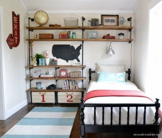Cute Boys Bedroom Design Ideas For Small Space 31