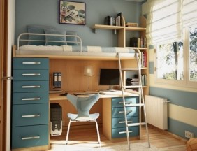 Cute Boys Bedroom Design Ideas For Small Space 35