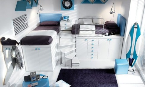 Cute Boys Bedroom Design Ideas For Small Space 52