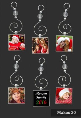 Easy And Creative DIY Photo Christmas Ornaments Ideas 07