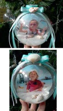 Easy And Creative DIY Photo Christmas Ornaments Ideas 09