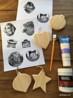 Easy And Creative DIY Photo Christmas Ornaments Ideas 14