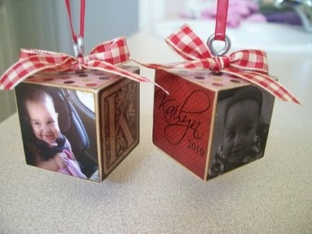 Easy And Creative DIY Photo Christmas Ornaments Ideas 21