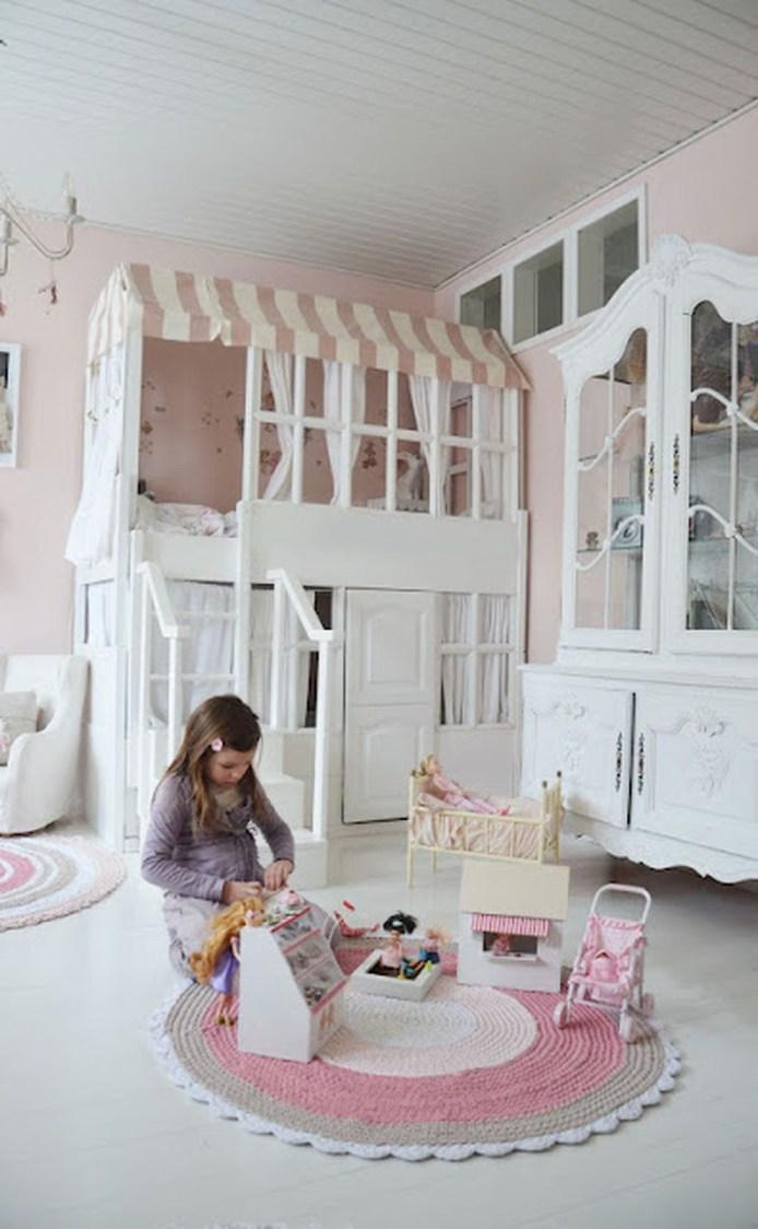 Elegant Teenage Girls Bedroom Decoration Ideas 20