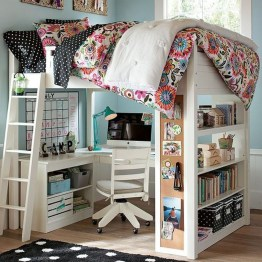 Elegant Teenage Girls Bedroom Decoration Ideas 43