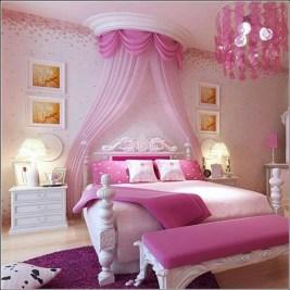 Elegant Teenage Girls Bedroom Decoration Ideas 58