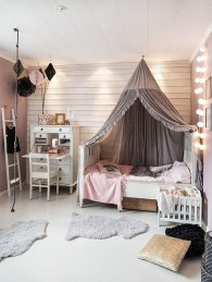 Elegant Teenage Girls Bedroom Decoration Ideas 62
