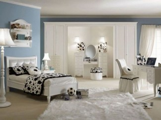 Elegant Teenage Girls Bedroom Decoration Ideas 66