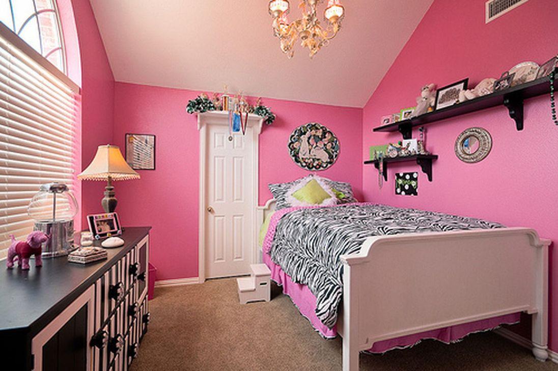 Elegant Teenage Girls Bedroom Decoration Ideas 73