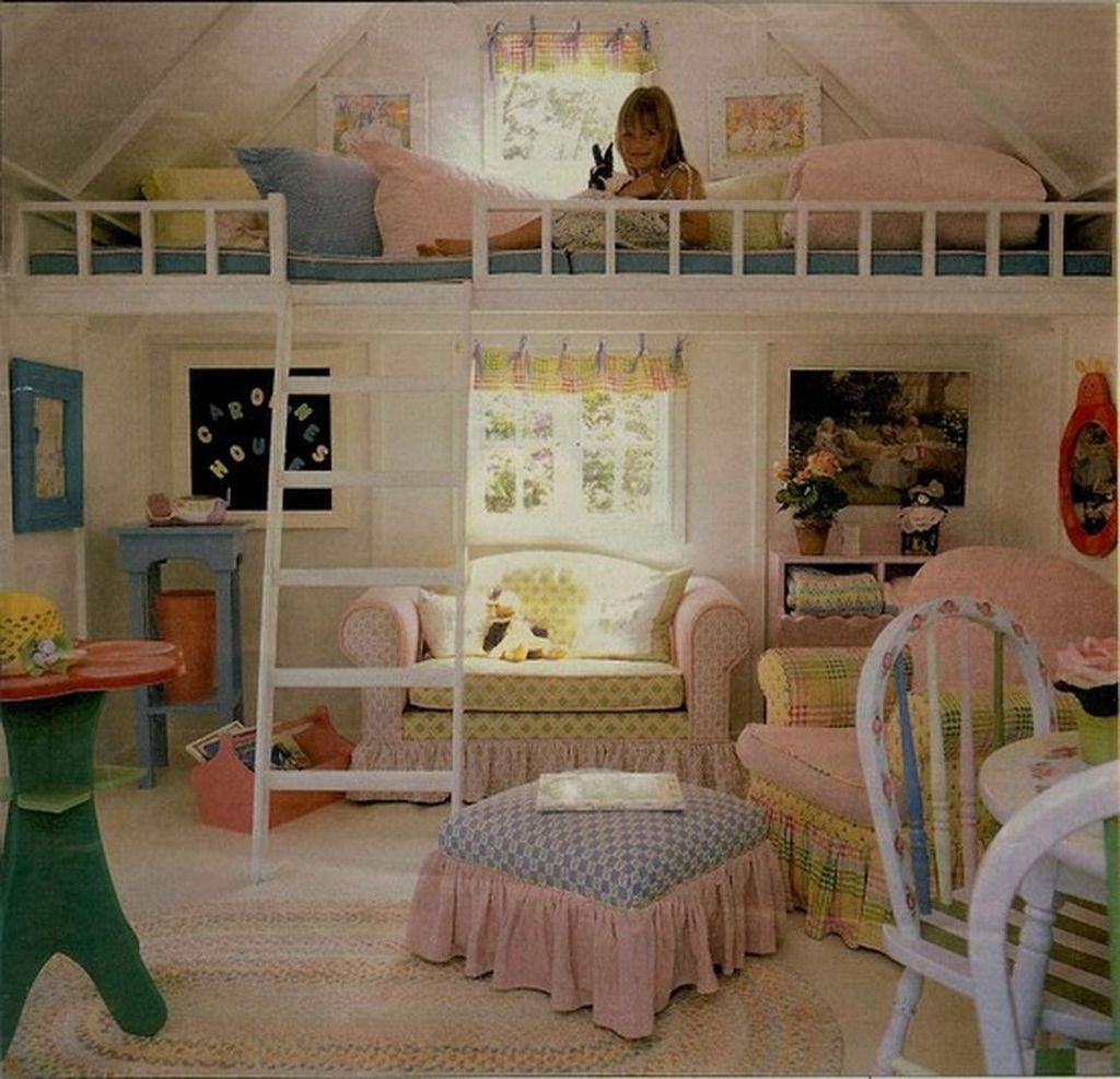 Elegant Teenage Girls Bedroom Decoration Ideas 78