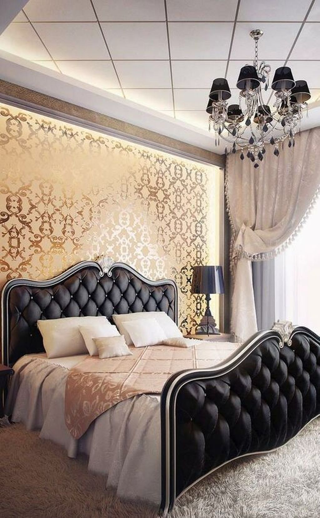 Gorgeous Vintage Master Bedroom Decoration Ideas 04