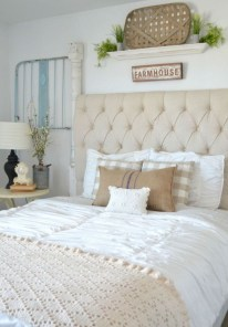 Gorgeous Vintage Master Bedroom Decoration Ideas 05