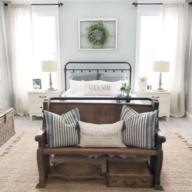 Gorgeous Vintage Master Bedroom Decoration Ideas 64