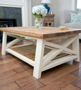Incredible Industrial Farmhouse Coffee Table Ideas 31