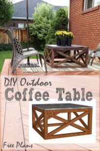 Incredible Industrial Farmhouse Coffee Table Ideas 34
