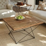 Incredible Industrial Farmhouse Coffee Table Ideas 35