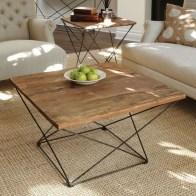 Incredible Industrial Farmhouse Coffee Table Ideas 35