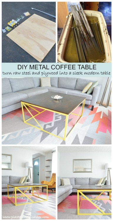 Incredible Industrial Farmhouse Coffee Table Ideas 36