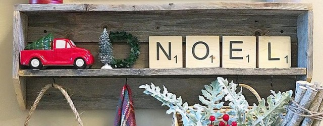 Incredible Rustic Farmhouse Christmas Decoration Ideas 41