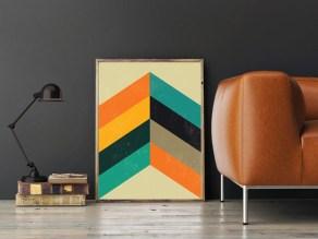 Inspiring Modern Wall Art Decoration Ideas 49