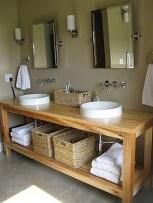 Inspiring Rustic Bathroom Vanity Remodel Ideas 17