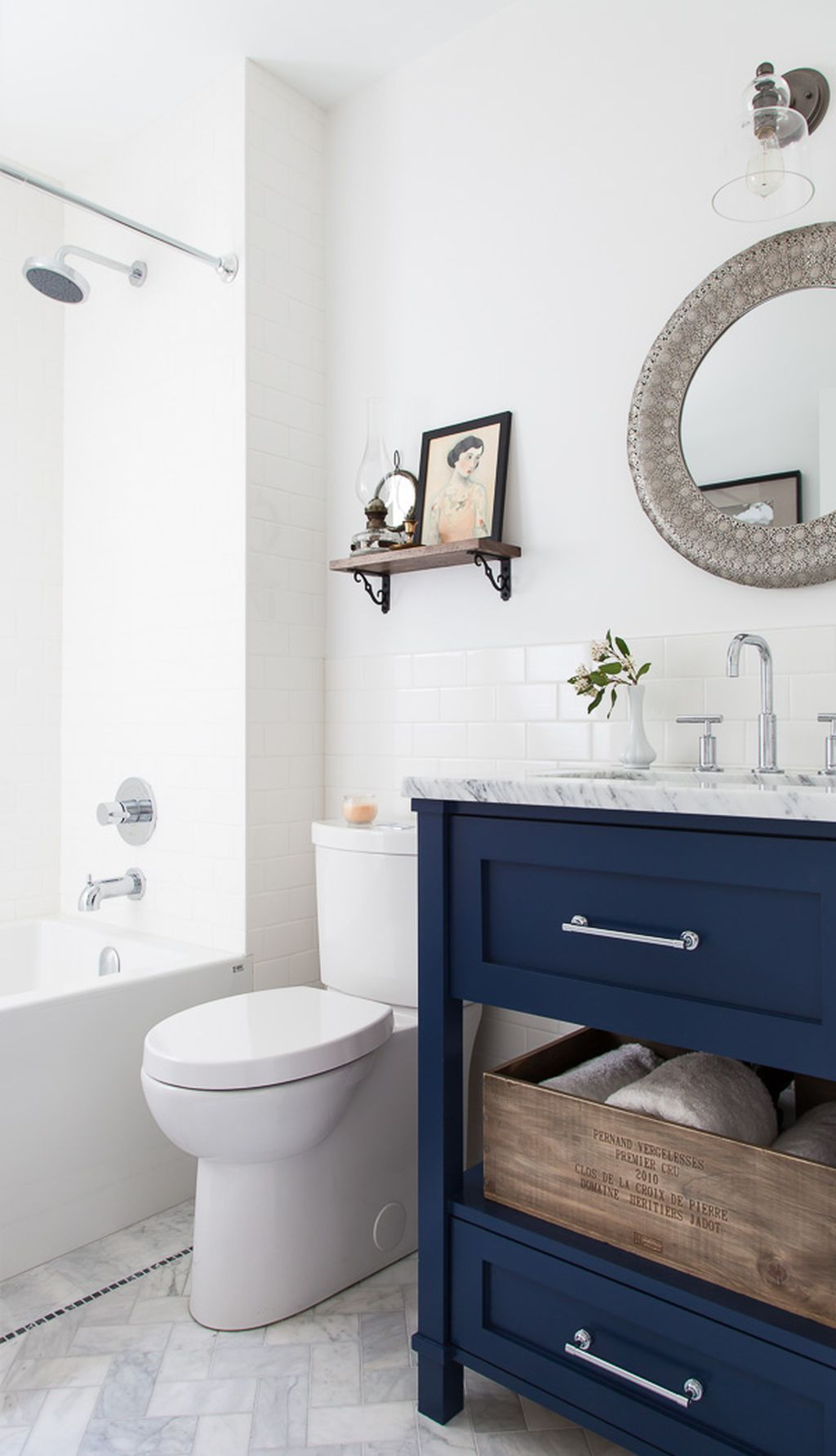 Inspiring Rustic Bathroom Vanity Remodel Ideas 22