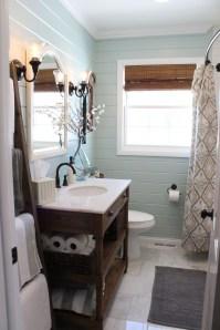Inspiring Rustic Bathroom Vanity Remodel Ideas 25