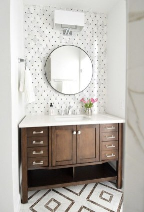 Inspiring Rustic Bathroom Vanity Remodel Ideas 36