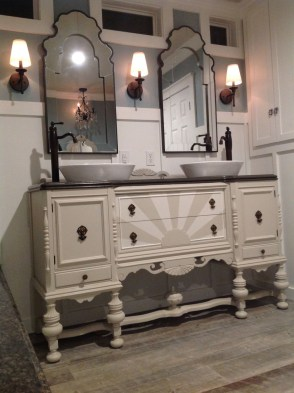 Inspiring Rustic Bathroom Vanity Remodel Ideas 42