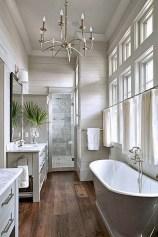 Romantic And Elegant Bathroom Design Ideas With Chandeliers 43