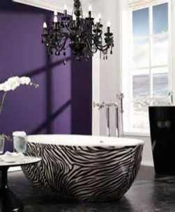 Romantic And Elegant Bathroom Design Ideas With Chandeliers 57
