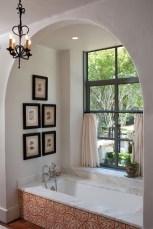 Romantic And Elegant Bathroom Design Ideas With Chandeliers 70
