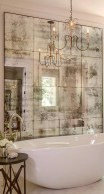 Romantic And Elegant Bathroom Design Ideas With Chandeliers 93
