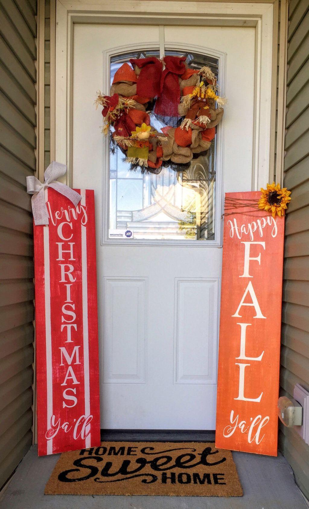 Totally Inspiring Christmas Porch Decoration Ideas 11