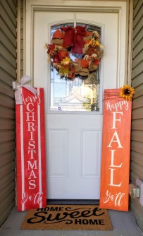 Totally Inspiring Christmas Porch Decoration Ideas 11