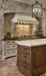 Totally Outstanding Traditional Kitchen Decoration Ideas 02