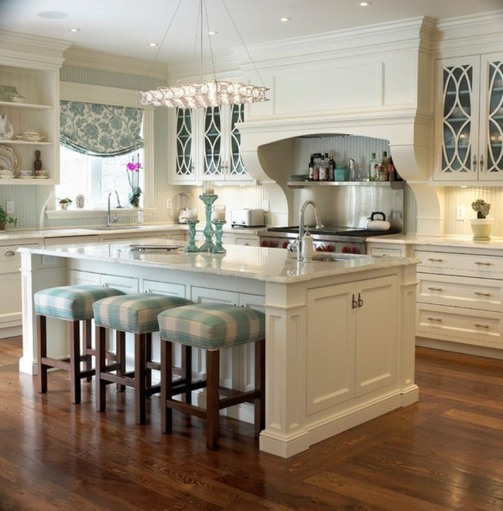 Totally Outstanding Traditional Kitchen Decoration Ideas 18