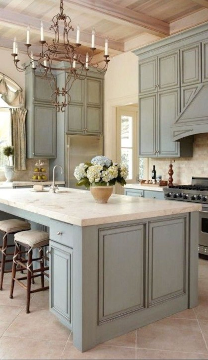 Totally Outstanding Traditional Kitchen Decoration Ideas 19