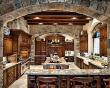 Totally Outstanding Traditional Kitchen Decoration Ideas 20