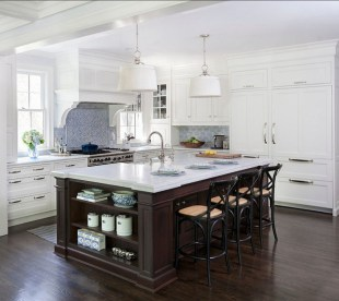 Totally Outstanding Traditional Kitchen Decoration Ideas 26